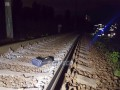 В Киеве электричка сбила насмерть мужчину
