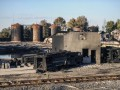 В сети появилось видео нового взрыва на нефтебазе под Киевом