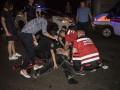 В Киеве мужчина прыгнул с эстакады и попал под автомобиль