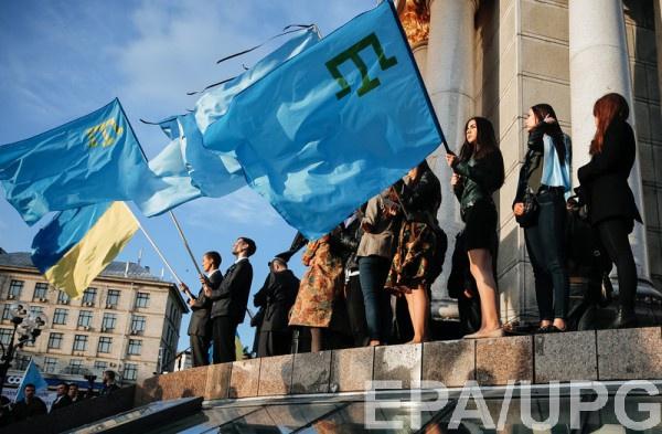 По словам журналиста, российские оккупанты без оснований задержали 25 крымских татар