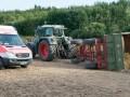 Экскурсионный трактор с туристами перевернулся в Германии