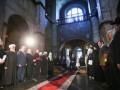 Предстоятели церквей и Порошенко помолились за Украину