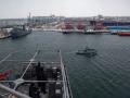 Военный корабль США зашел в черноморский порт