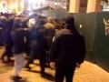 На Майдане из-за KFC произошла стычка между активистами и полицией
