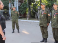 Российские оккупанты учили луганских школьников воевать