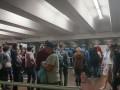 В Киеве огромные очереди к метро: сбой в работе электронного билета