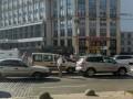 На Европейской площади ДТП усложнило проезд
