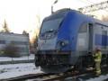 В Польше поезд врезался в локомотив
