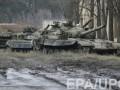На передовую у Марьинки переброшены танки оккупантов - разведка
