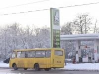 В Киеве водитель маршрутки играл на смартфоне за рулем