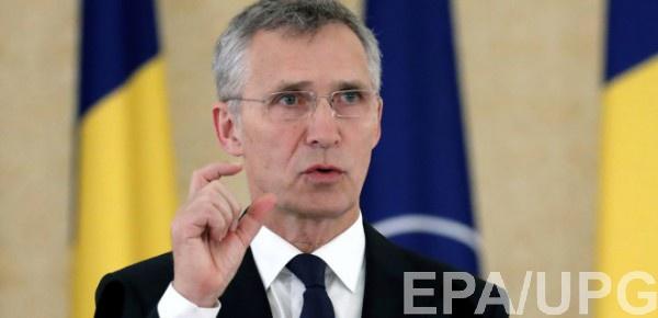 Генсек НАТО выступил в Раде
