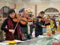 Флешмоб на одесском Привозе: оркестр сыграл гимн ЕС