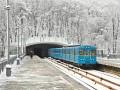 Киевский метрополитен будет закрывать станции на вход из-за снегопада