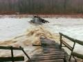 Закарпатье интенсивно идет под воду, реки начали выходить из берегов
