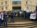 В Киеве митингуют сотрудники Укрнафты