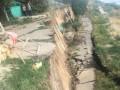 На Одесчине произошел масштабный оползень