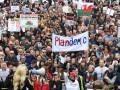 В центре Лондона протестовали против коронавирусных ограничений