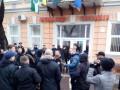 В Берегово пытались сжечь флаг Венгрии