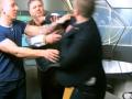 Свободовец Леонов и журналист Коцаба подрались в прямом эфире
