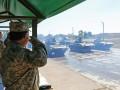 Полторак проверил готовность техники к военному параду