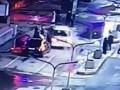 Участников массовой драки протаранил автомобиль