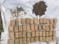 Под Луганском нашли тайник с тремя мешками оружия