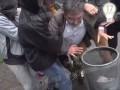 Появилось видео, как в центре Киева напали на депутата Грушевского