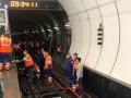 В Москве затопило метро