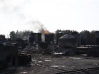 С нефтебазы БРСМ-Нафта прекратили перекачивать топливо: сильно нагрелся резервуар