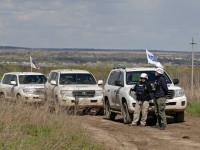 На Донбассе боевики напали на патруль ОБСЕ