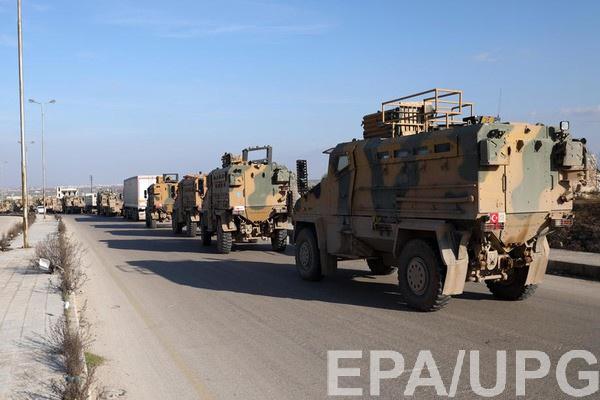 Турецкий конвой в Сирии
