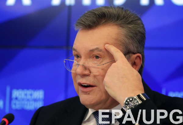 Янукович хочет вернуться