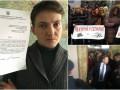 Итоги 21 февраля: неприкосновенность Савченко, протесты под Радой и задержание Фирташа