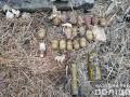 На Донбассе нашли тайник с гранатами