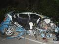 Под Хмельницким чиновник влетел в грузовик, есть погибшие