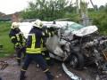 Автомобиль влетел в фуру на Тернопольщине: трое погибших