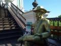 Cкульптуру основателя Jack Daniel's поместили под Андреевской церковью