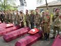 На Донбассе перезахоронили останки воинов Второй мировой