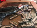 На границе с Румынией изъяли крупную партию контрабандных сигарет