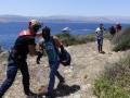 Береговая охрана Турции спасла десятки беженцев