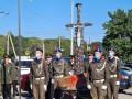 В Павлограде открыли памятник, сделанный из пуль, снарядов и осколков
