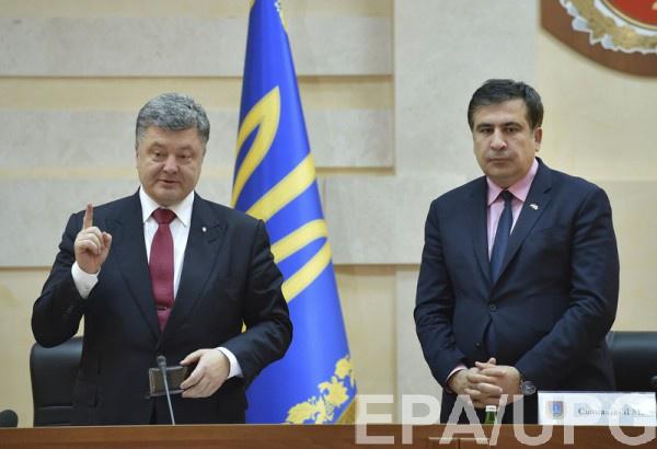 Саакашвили признался, что Порошенко предлагал ему очень существенную должность