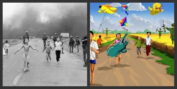 Делая мир лучше. Азербайджанский художник переосмыслил жуткие фото