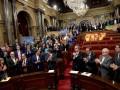Парламент Каталонии объявил независимость от Испании