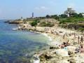 Вооруженные полицейские в Крыму выгнали с пляжа туристов