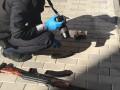На Волыни добытчики янтаря взяли полицейского в заложники