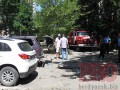 В центре Бердянска взорвался автомобиль