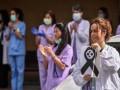 В Испании COVID-19 заразились 9,5 тыс медиков