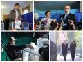 Выборы 2014: политики и кандидаты позировали перед камерами на участках (фото)