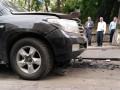 Момент взрыва автомобиля в Киеве показали на видео